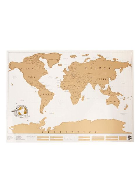 Beige, Map, Rectangle,