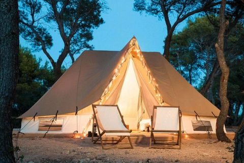 Tent, Camping, Camp, Yurt, Tree, Recreation, Leisure, Home, Landscape, House,