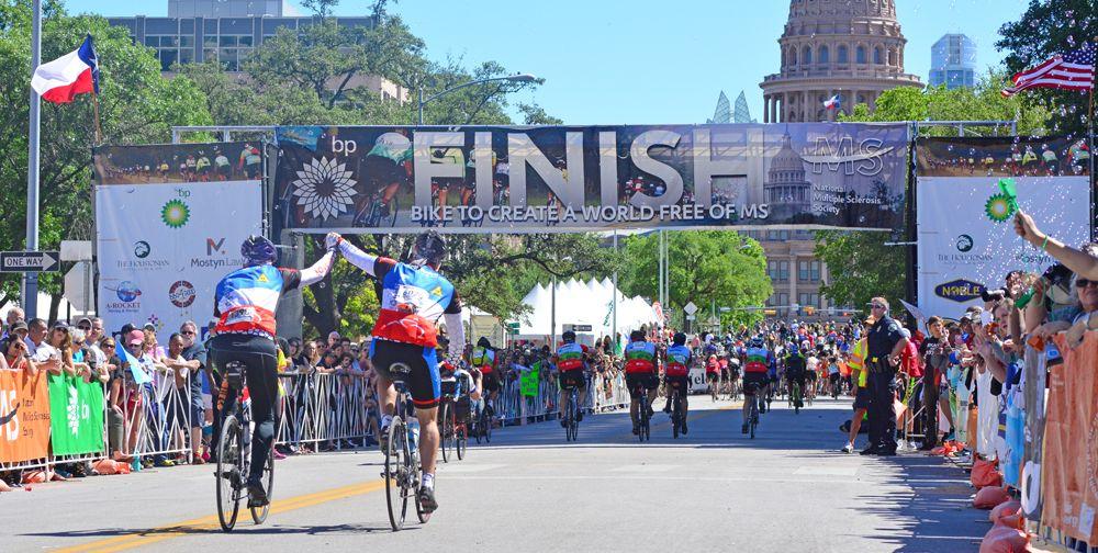 Bike MS BP150 bike ride
