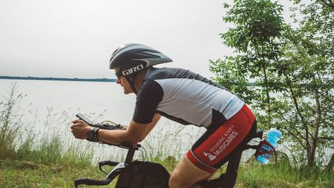 Cycling, Bicycle, Cycle sport, Cycling shorts, Helmet, Outdoor recreation, Vehicle, Bicycle helmet, Recreation, Bicycles--Equipment and supplies,