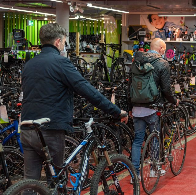 bike shop during pandemic
