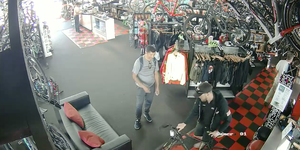 The Cyclist bike shop theft