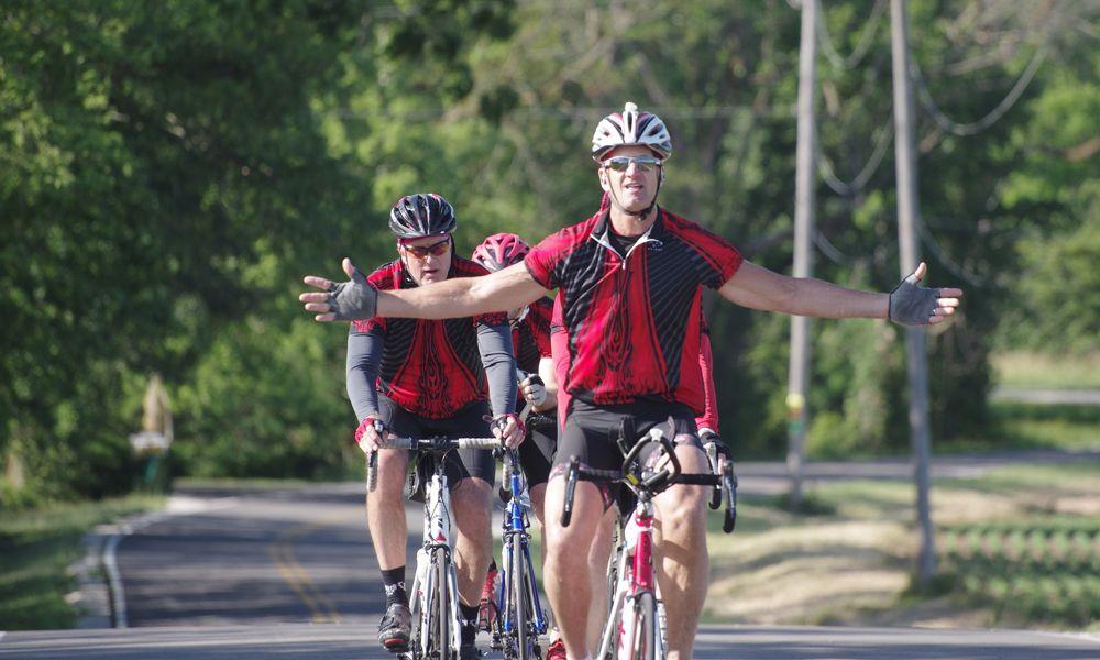 Bike to the Bay ride