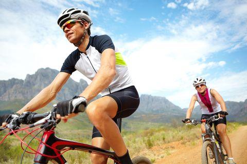 Biking getaway to unwind
