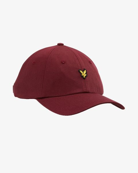 Cap, Clothing, Maroon, Red, Cricket cap, Baseball cap, Leaf, Headgear, Fashion accessory, Hat,