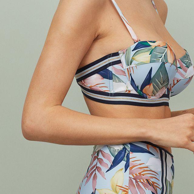 bikini estampado de hm