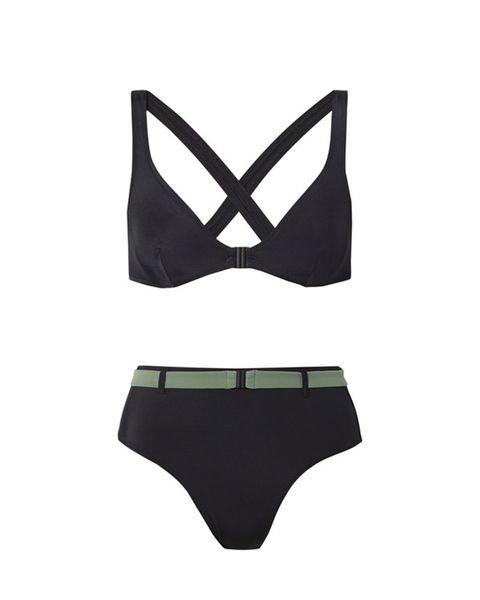 Bikini, Clothing, Lingerie, Briefs, Undergarment, Swimwear, Swimsuit bottom, Brassiere, Swim brief, Lingerie top,