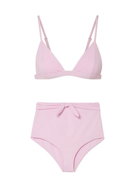 Clothing, Lingerie, Undergarment, Brassiere, Briefs, Pink, Swimsuit bottom, Bikini, Swimwear, Lingerie top,