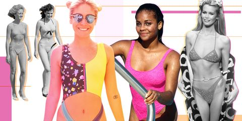 c485ca1003 How Swimsuit and Bikini Style Has Changed Through the Years - Most ...