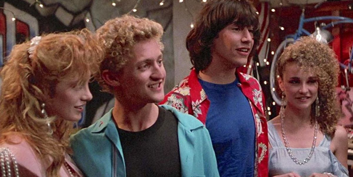 Bill & Ted's Princesses remember the first Excellent Adventure