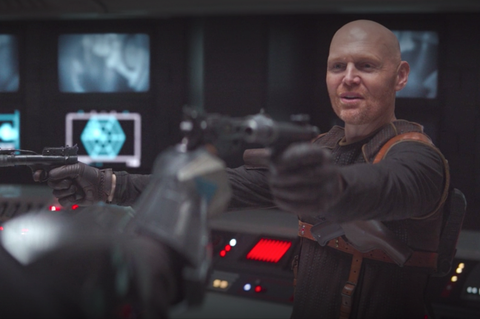 Why Is Bill Burr In The Mandalorian How He Got Star Wars Role