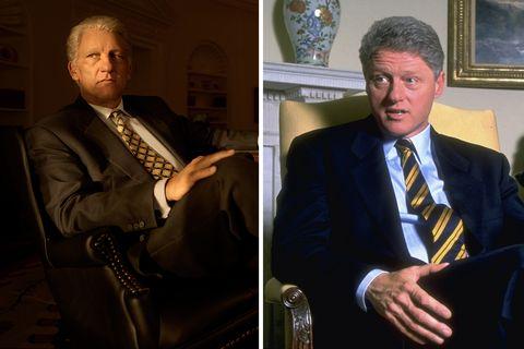 bill clinton comparison