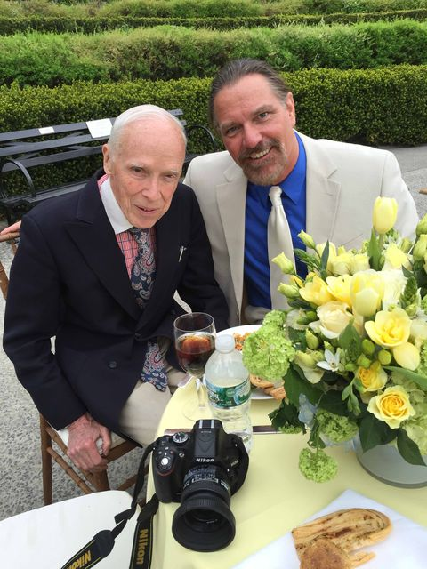 Bill Cunningham and John Kurdewan