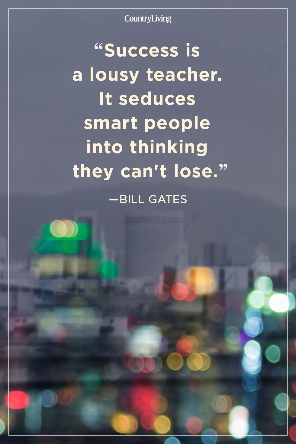 bill gatessuccess quote
