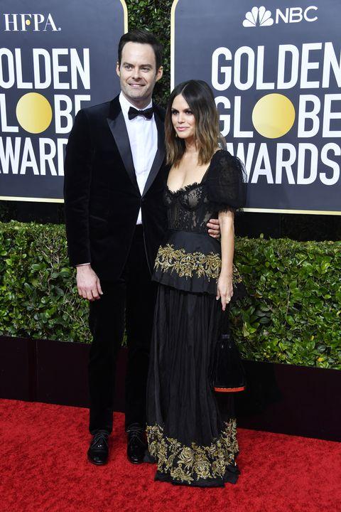 Bill Hader and Rachel Bilson Golden Globes