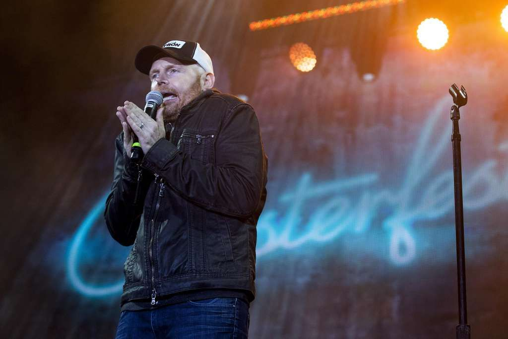 Bill Burr performing on the Colossal Stage during Colossal Clusterfest in San Francisco on June 3, 2017.​​