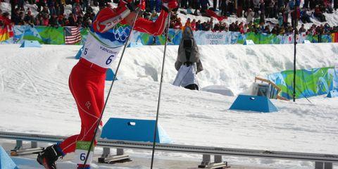 Olympic skier Bill Demong