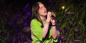 Billie Eilish, Billie Eilish esguince, Billie Eilish concierto, Billie Eilish accidente