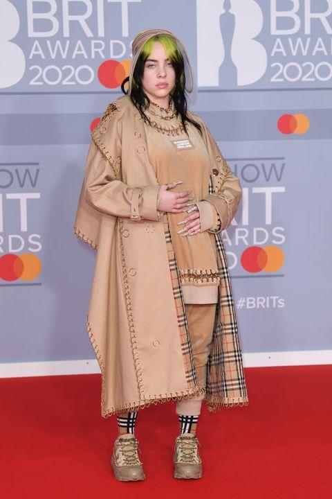brit awards red carpet