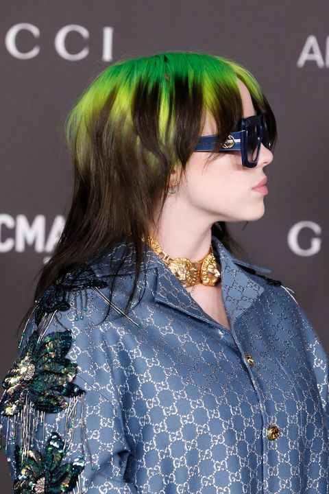 Billie Eilish new haircut