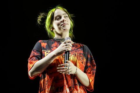 Billie Eilish Concert In Barcelona