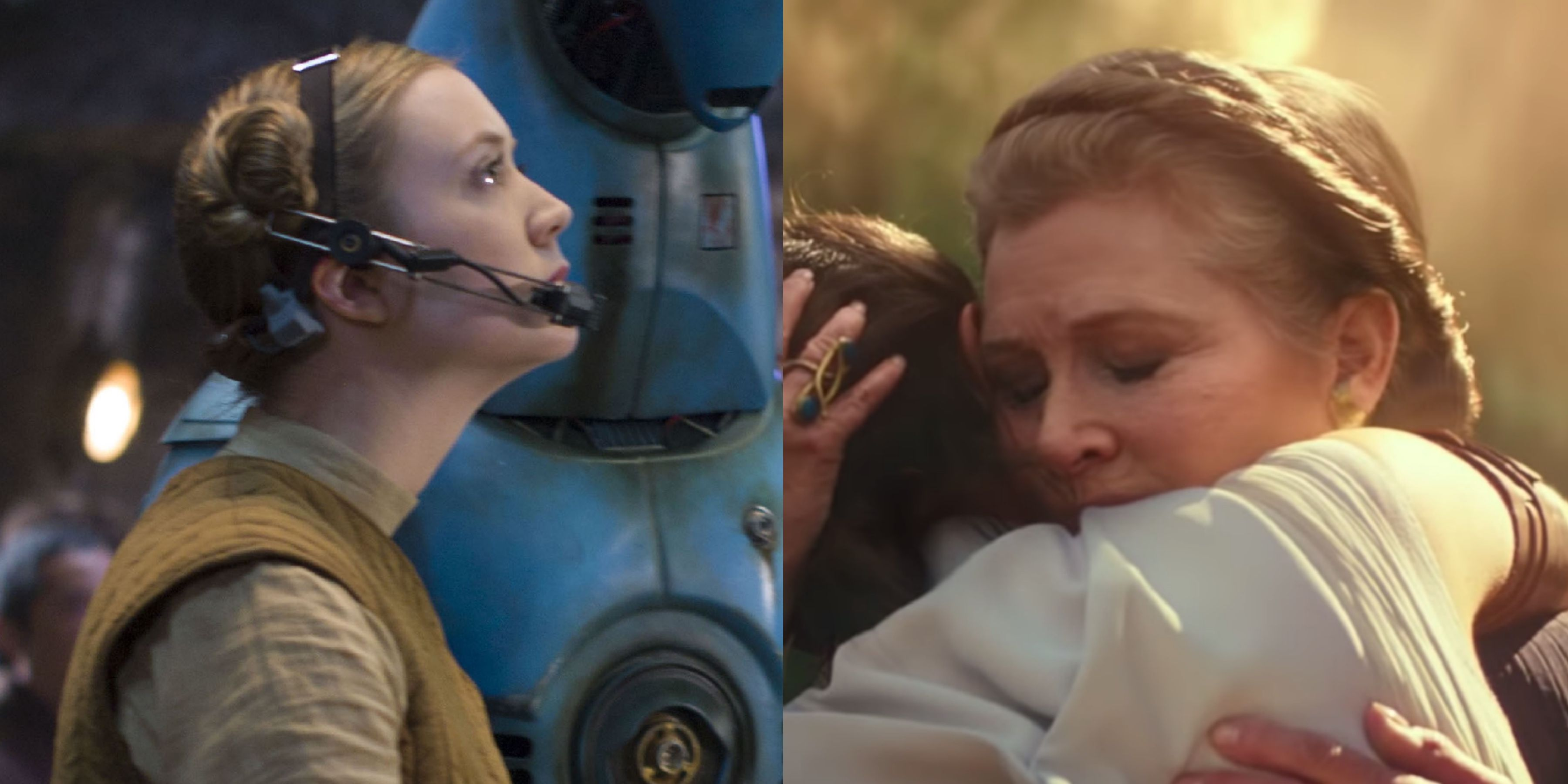 Star Wars: The Rise of Skywalker Will Have Carrie Fisher Share the Screen With Her Daughter