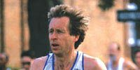 Bill Rodgers running a race