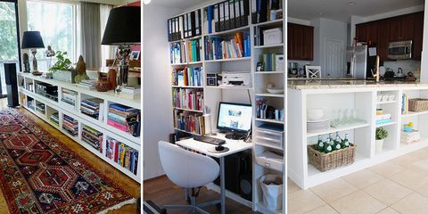 12 genius hacks for your ikea billy bookcase - Ikea Billy Bookshelves
