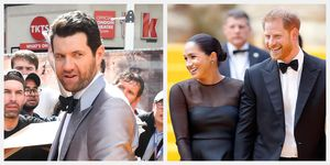 billy eichner meghan markle prince harry the lion king premiere red carpet
