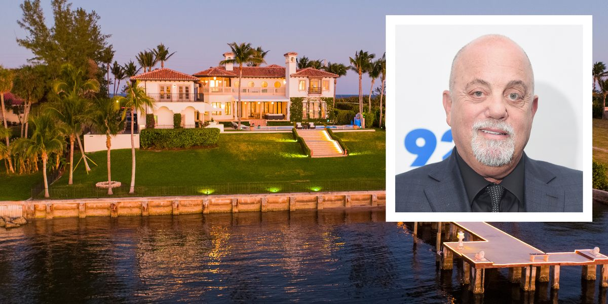 Billy Joel Selling Florida Home For 16 9 Million Billy