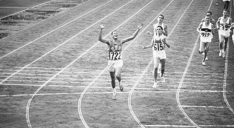 Billy Mills Winning Race in Olympics