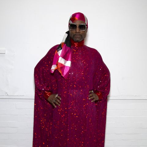 billy porter during london fashion week february 2020   day 4