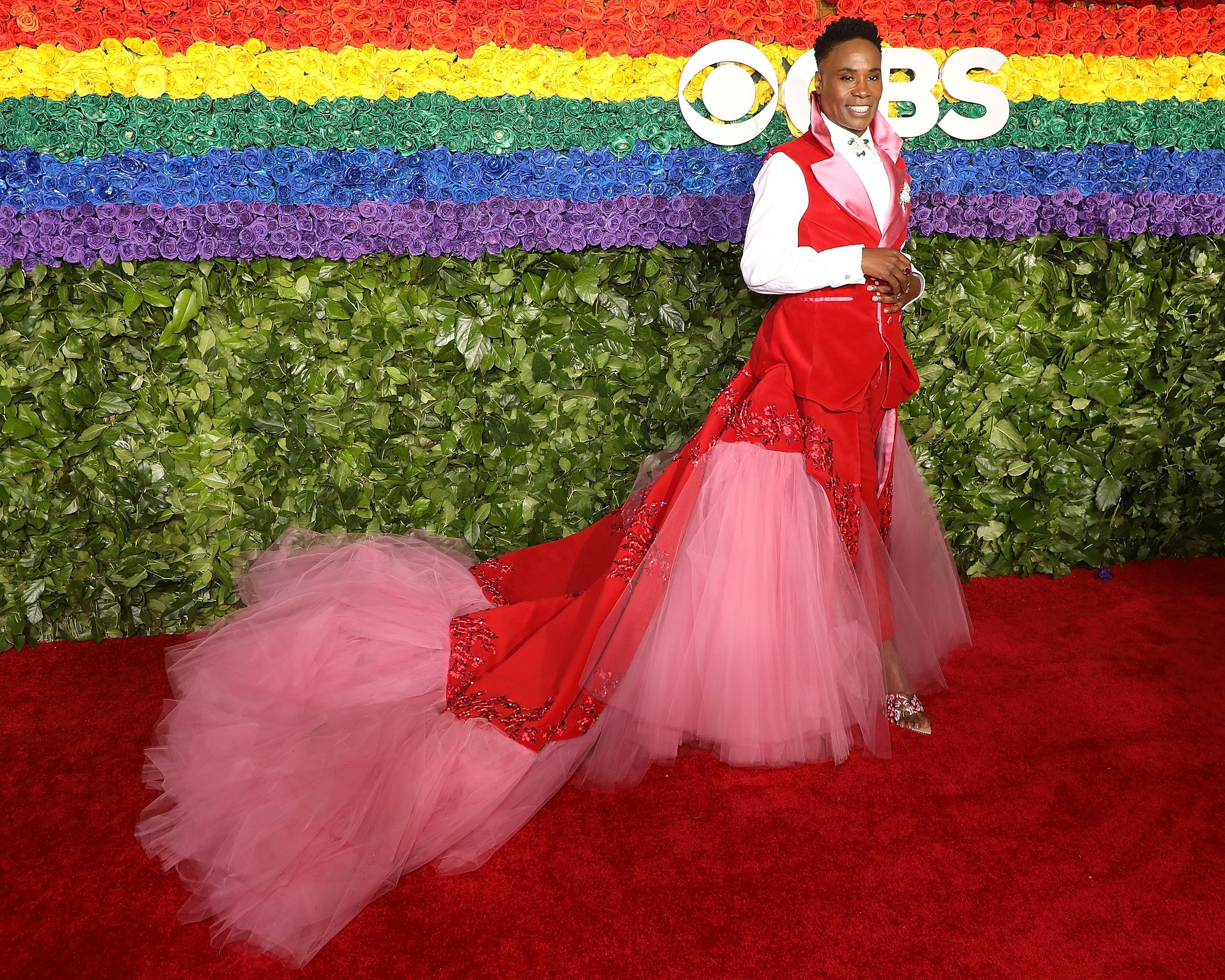 Billy Porter's Fierce Tonys Look Made a Statement About Reproductive Rights
