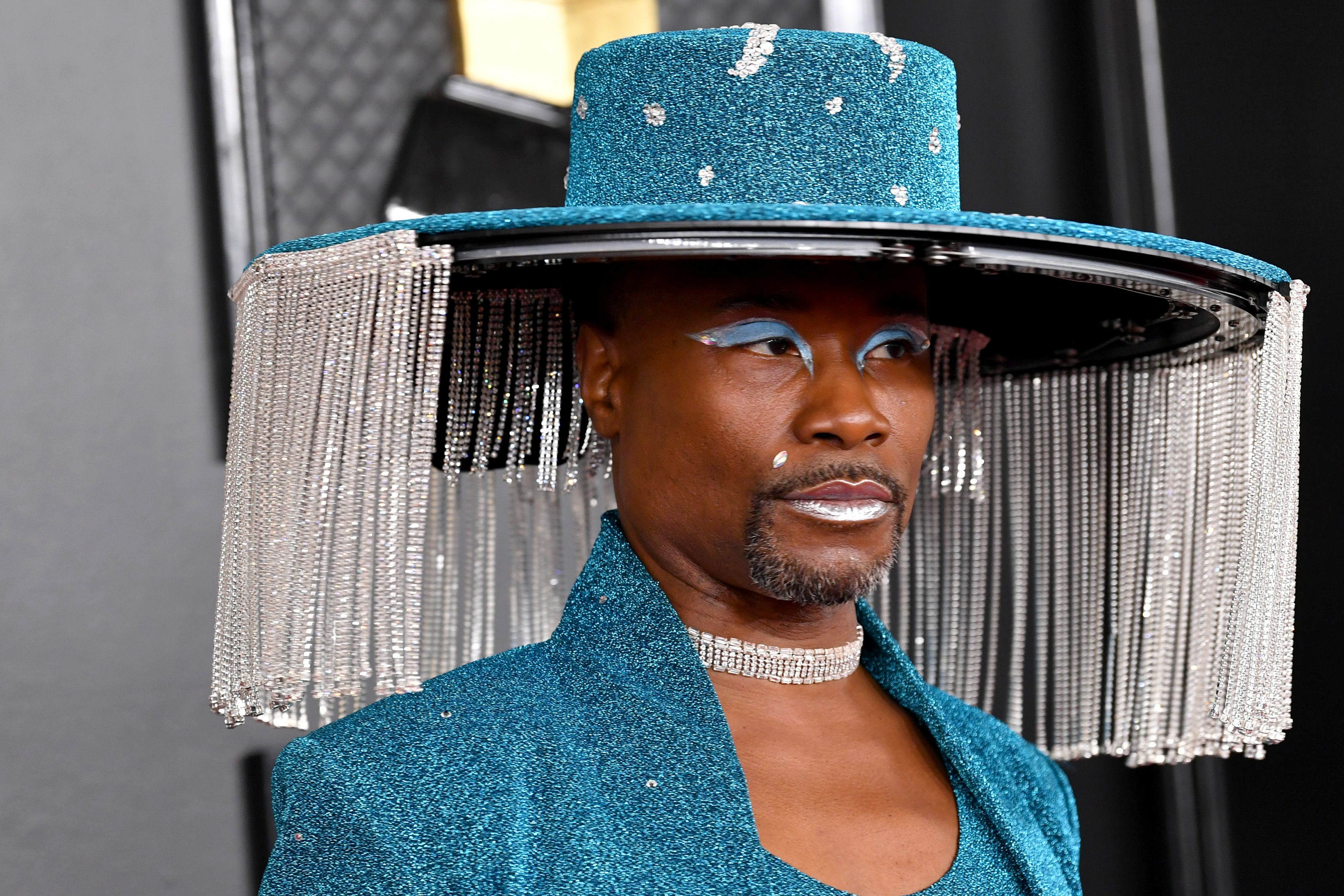 Billy Porter Brought Fringe Benefits to the 2020 Grammy Awards