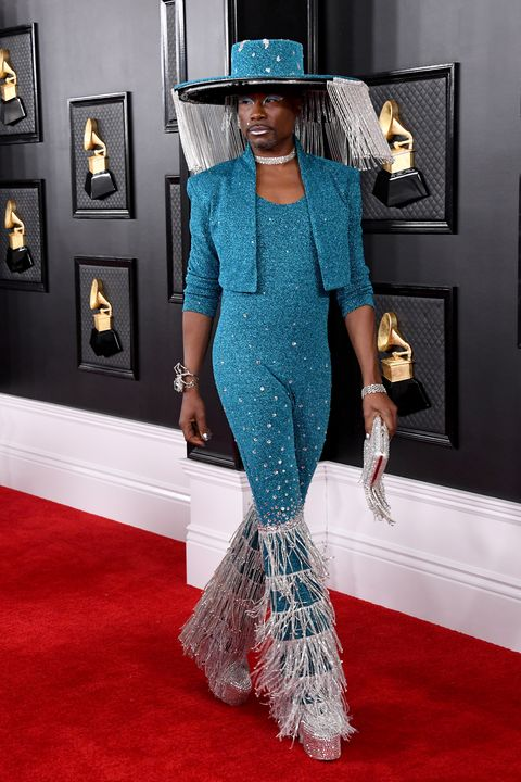 Billy Porter tijdens Grammy Awards 2020