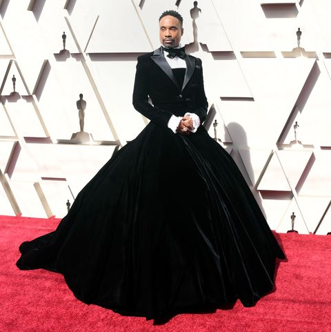 60fa51cd27b3f Why Billy Porter Wore a Tuxedo Gown on Oscars 2019 Red Carpet