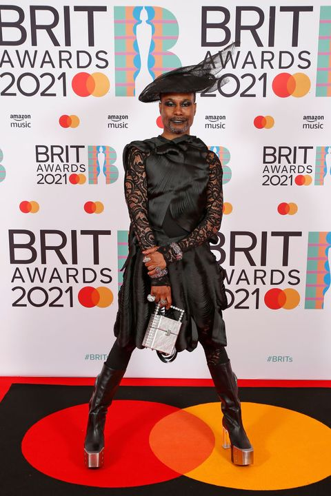 london, england   may 11 billy porter attends the brit awards 2021 at the o2 arena on may 11, 2021 in london, england photo by jmenternationaljmenternational for brit awardsgetty images