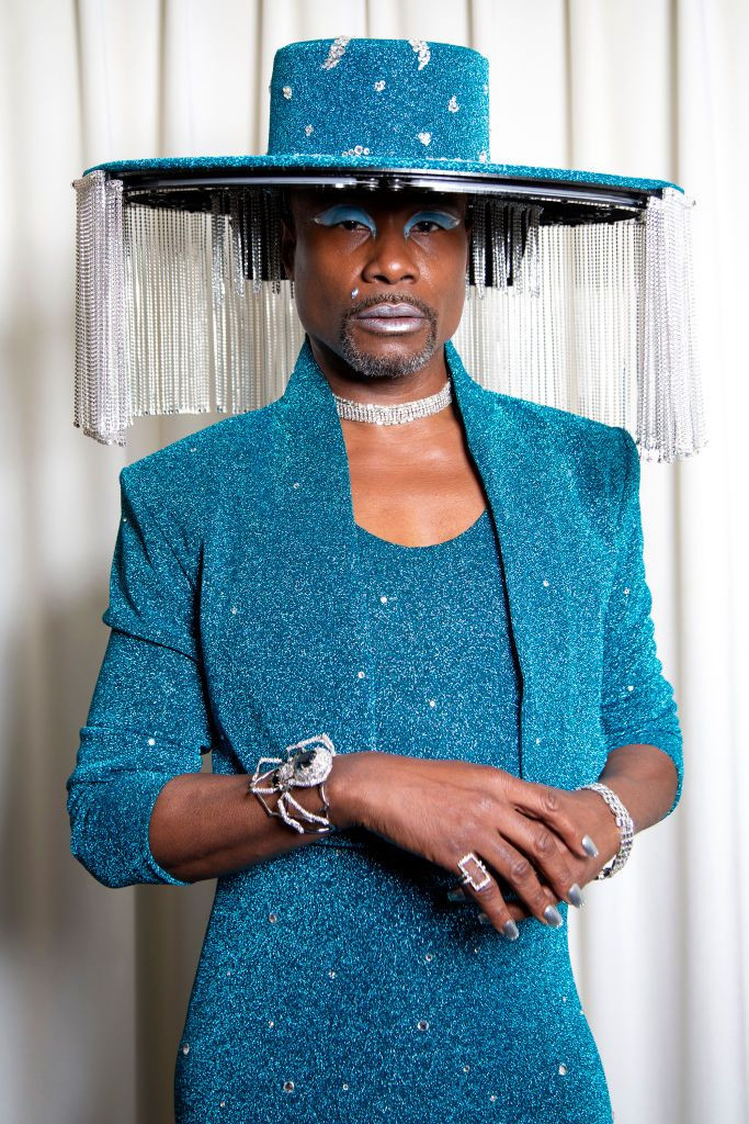 Billy Porter's Motorized Fringed Hat Is the Best Thing to Grace the Grammys