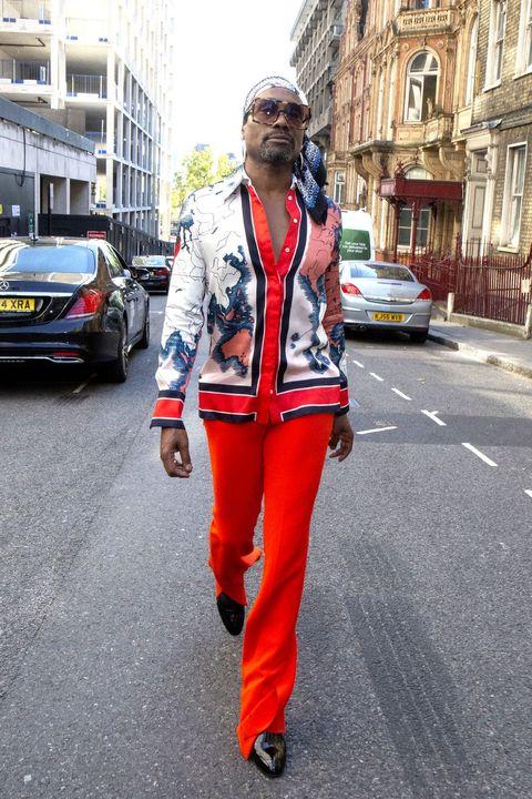 Billy Porter During London Fashion Week September 2019 - Day 3