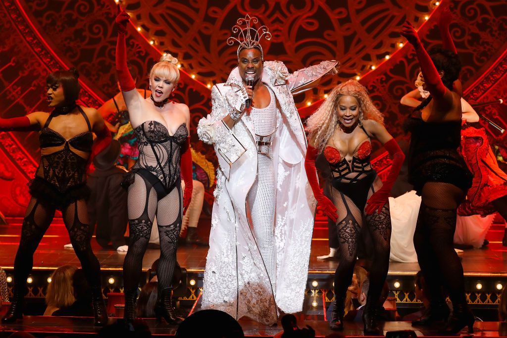 """Billy Porter Performs """"Lady Marmalade"""" at NYFW Show, Sends Wigs Flying Into Space"""
