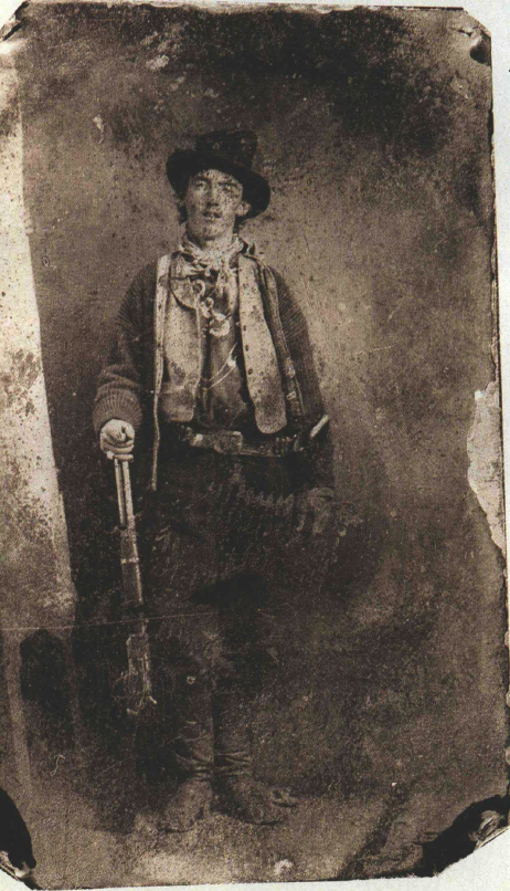 only known photo of billy the kid, in tintype