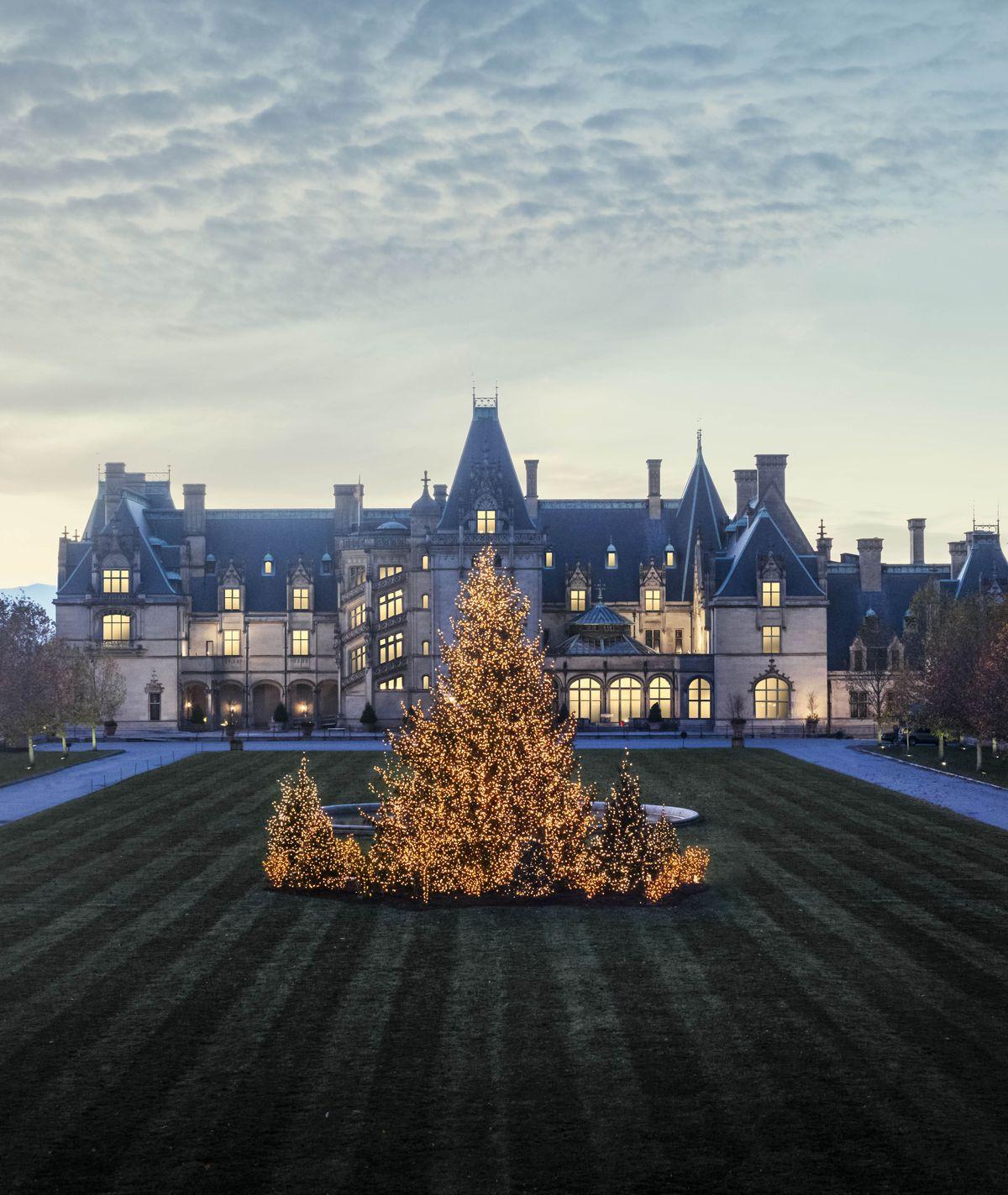Biltmore Estate During Christmas 2019