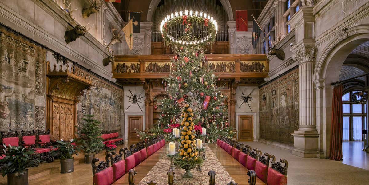 Biltmore Estate's Christmas Tree Raising Event Is Going ...