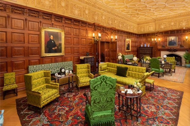 the restoration of the biltmore's oak room is now complete, following 15 years of preservation work