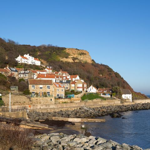 Binnacle cottage for sale in North Yorkshire overlooking the sea