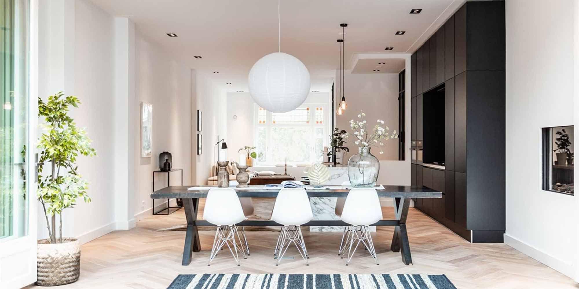Binnenkijken bij luxe appartement Amsterdam