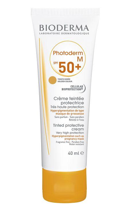 Crema protectora con color Photoderm M50+ de Bioderma