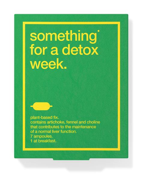 Biocol something for a detox week voedingssupplement, via Coda Amsterdam
