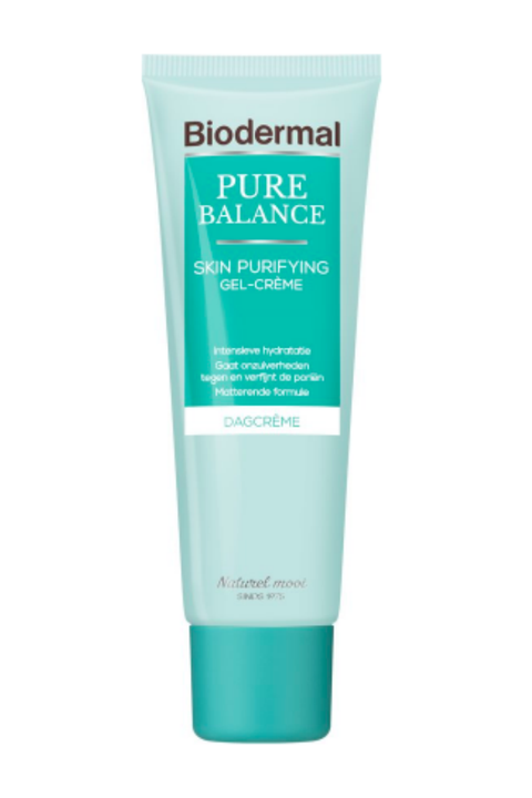 biodermal pure balance skin purifying dag gel crème