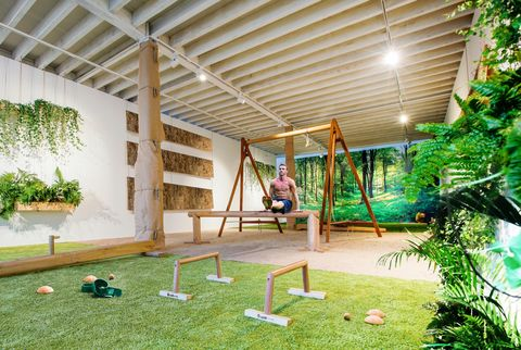 biofit organic gym design  home gym ideas
